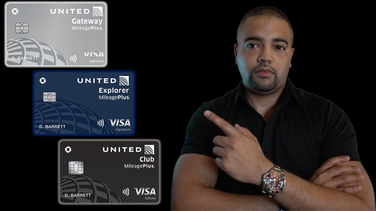 Chase United Airlines Infinite, Explorer, & Entrance Credit Cards thumbnail