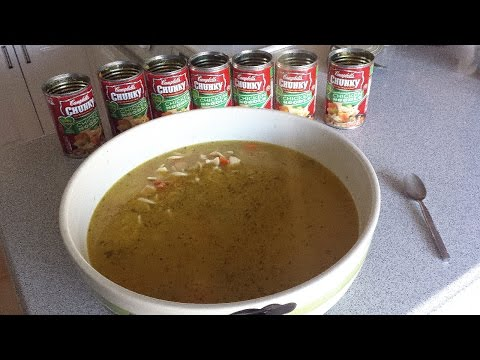 Massive Bowl of Chicken Noodle Soup (1.125 Gallons)
