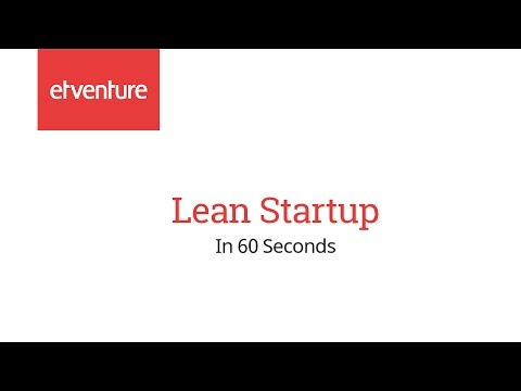Lean Startup in 60 Seconds - YouTube