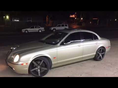 Jaguar S type on different rims