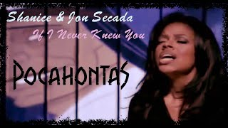 "Shanice & Jon Secada ""If I Never Knew You"" (Official Music Video HD) (Pocahontas Soundtrack)"