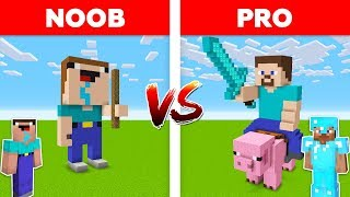 MINECRAFT - NOOB VS PRO in Minecraft / Part  1