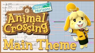 "New Transcription: ""Main Theme"" from Animal Crossing: New Horizons (2020)"