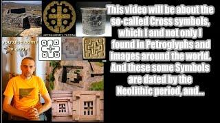 Starożytne obrazy Krzyża. Petroglify, Geoglify, Rysunki, Struktury Co oznacza krzyż – nagranie w j.rosyjskim