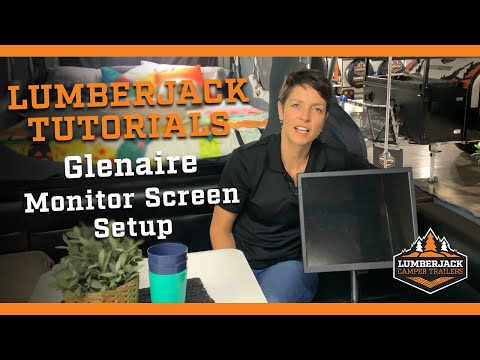 How to setup the Monitor screen in the Glenaire