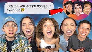 DM'ing Youtubers & Celebrities on Instagram  (ft. Nezza, Merrell Twins, Aaron Burriss)