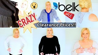 Belk Haul -Cheaper than the Thrift Store!!!