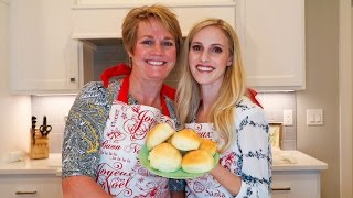 How To Make Thanksgiving Bread Rolls!   What's In Ellie's Belly