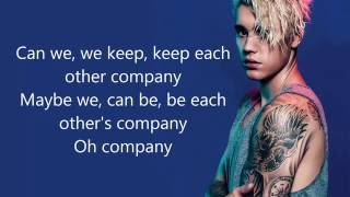 Justin Bieber - Company (Lyrics) HD