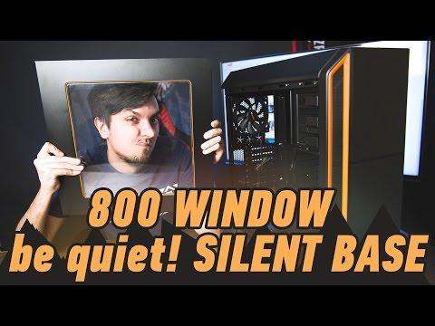 Корпус be quiet! Silent Base 800 Window: квадратиш, практиш, гут!