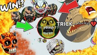 BEST FUNNIEST FAILS EVER IN AGARIO!! WORST STUPID #FAIL MOMENTS (Agar.io)