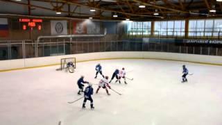 ОПМ 2015/2016. Белые Медведи - Локомотив; 1:4. 1 период. Детский хоккей (2003)