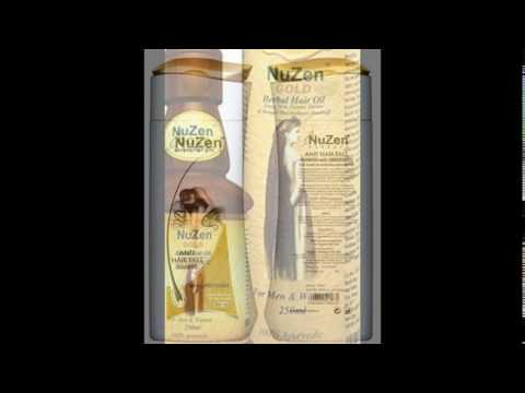 Nuzen Anti Hair Fall Shampoo with Conditioner and Oil