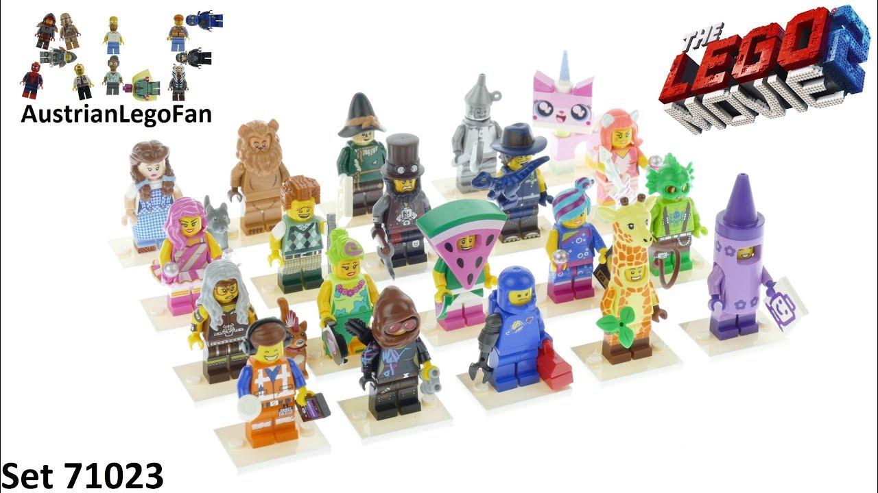 Lego Minifigures 71023 The Lego Movie 2 The Secont Part Minifigure Series 1 - Lego 71023 Speed Build