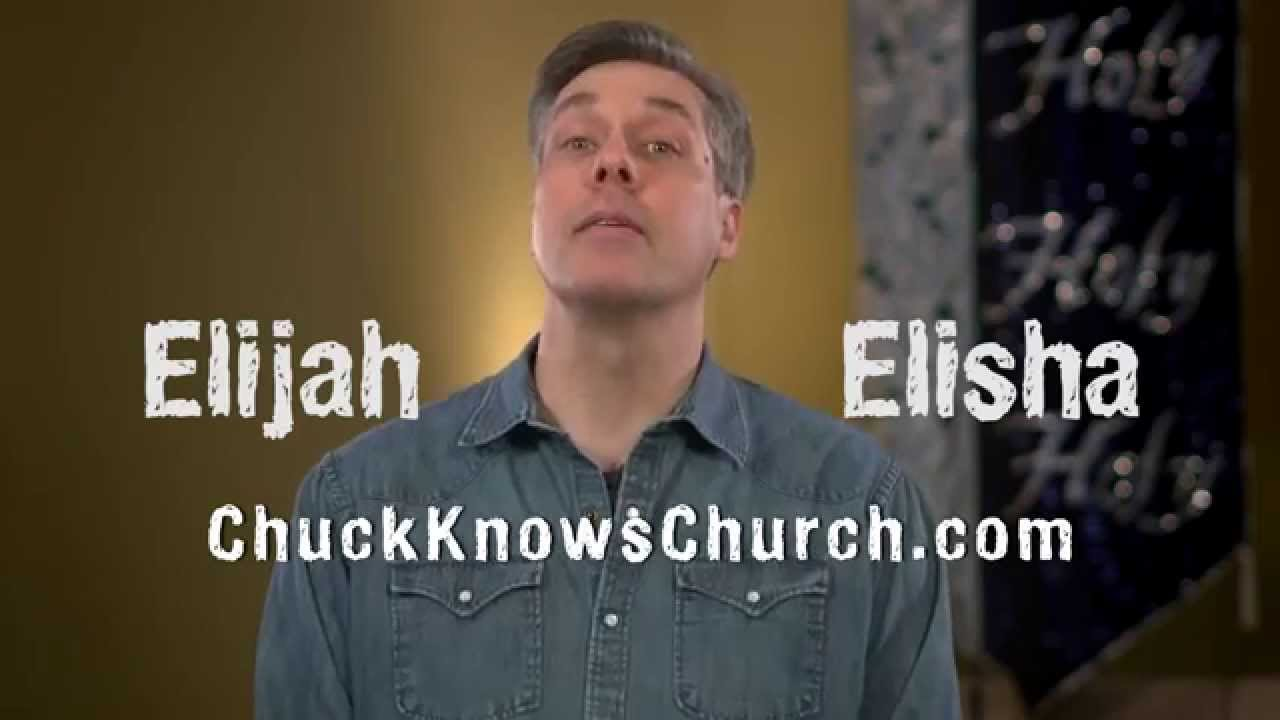 99 | Elijah vs Elisha -- Chuck Knows Church