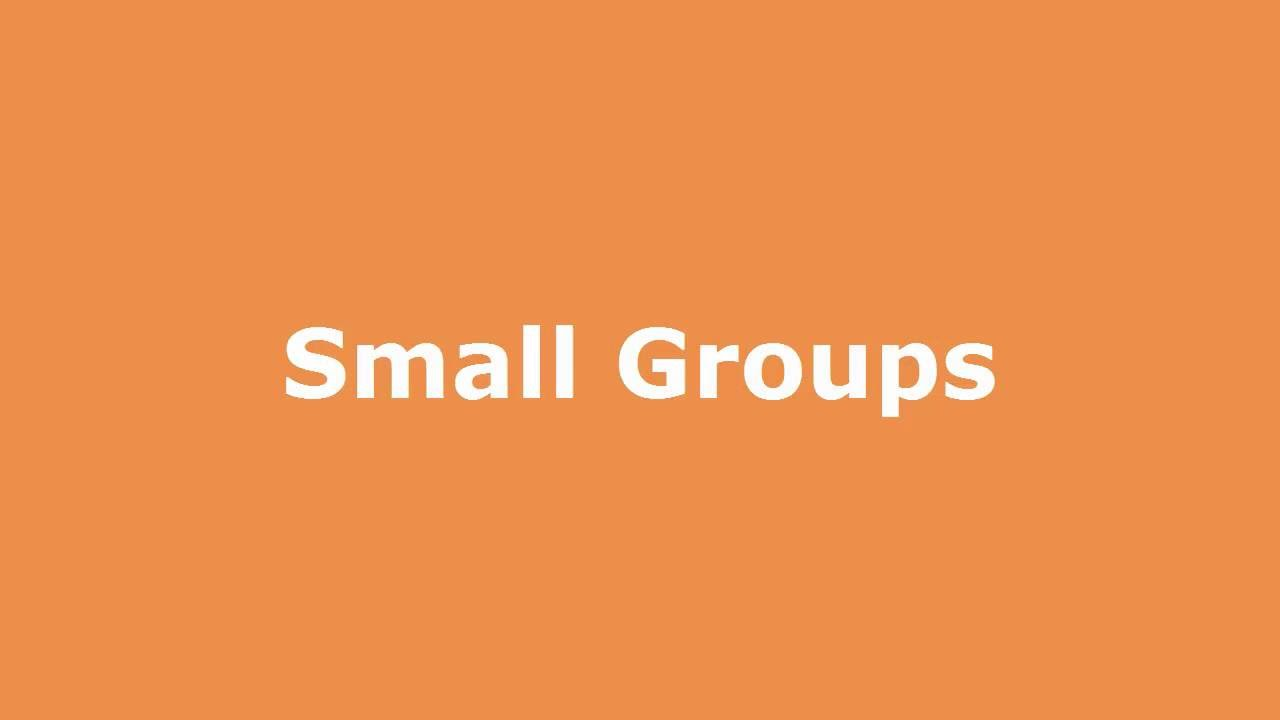Play SOLE Small Groups