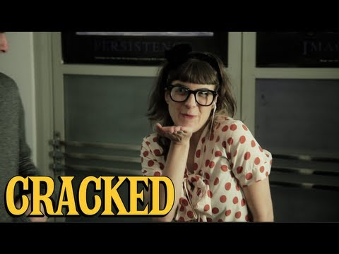 The Dark Secret Behind Quirky Romantic Comedies - Manic Pixie Dream Girl Parody
