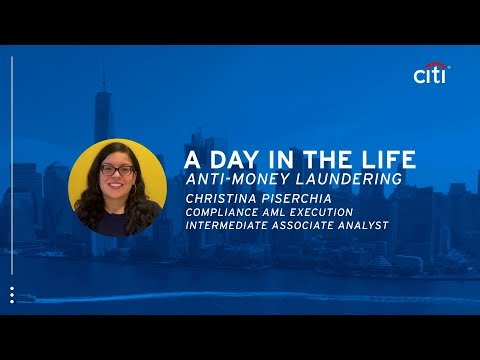A Day in the Life at Anti-Money Laundering: Christina Piserchia ...