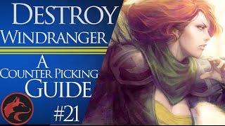 Dota 2 Counter Picking Guides #21 -Dota 2 Windranger