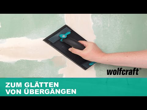 Handschleifer-Set: Zum Glätten von Übergängen   wolfcraft