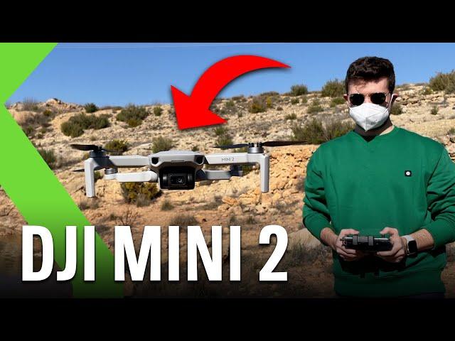 DJI MINI 2 ANÁLISIS - ¡Parece un videojuego!