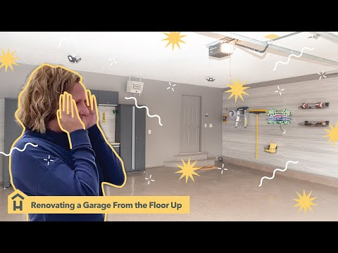 Garage Renovation Surprise Reveal