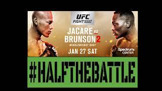 UFC Charlotte: Jacare vs Brunson 2 Bets, Picks, Predictions on Half The Battle (UFC on Fox 27)
