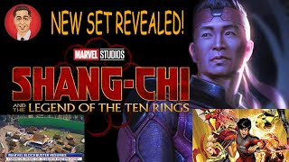 SHANG CHI IS BEING FILMED 15 MINUTES FROM MY HOUSE - NEW SET REVEALED!!!