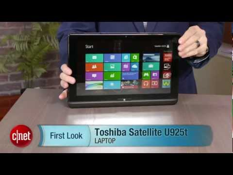 Slide into a convertible with the clever Toshiba Satellite U925t