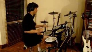 Metallica - Enter Sandman drum cover - Beginner