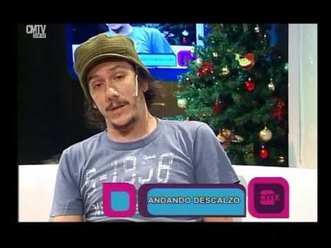 Andando Descalzo video Entrevista CM Xpress - Diciembre 2014