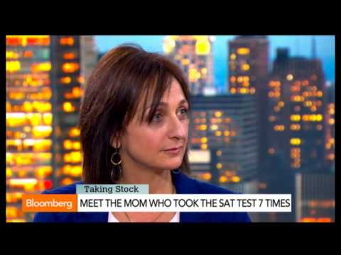 Debbie Stier discussing the SAT on Bloomberg TV