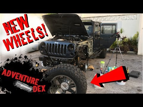 New Wheels for the Jeep! - Blue Beast Episode 3