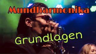 Mundharmonika Grundlagen (C-Dur) für blutige Anfänger - deutsch HQ