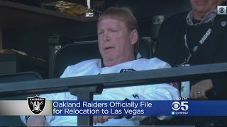 Oakland Raiders File Paperwork For Move To Las Vegas
