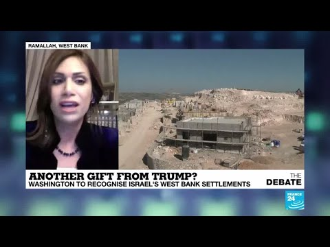 'US policy on Israeli settlements is intended to benefit Trump'