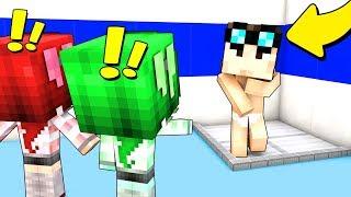 LE RAGAZZE MI SPIANO IN BAGNO! - Scuola di Minecraft #13