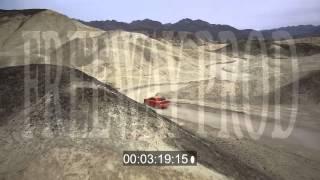 Cars Driving Desert