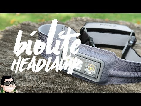 New!! World's Most Comfortable Headlamp from BioLite