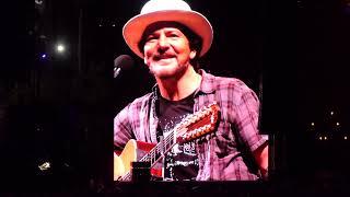 """EDDIE VEDDER : """"Wildflowers"""" (Tom Petty Tribute) : OHANA FESTIVAL (Sept 29, 2018)"""