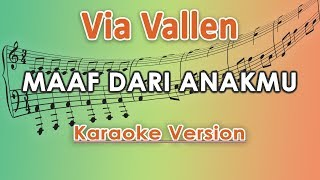 Via Vallen   Maaf Dari Anakmu (Karaoke Lirik Tanpa Vokal) By Regis