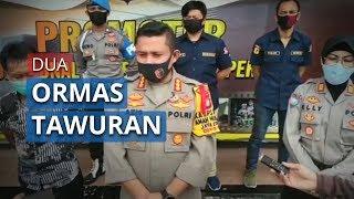 10 Orang Ditangkap Kepolisian Terkait Peristiwa Tawuran antara Dua Ormas di Depok