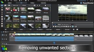 Video Editing Tutorial | Cyberlink PowerDirector 12