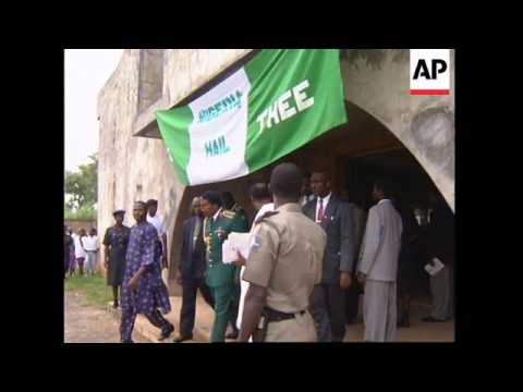 NIGERIA: MILITARY RULERS CRITICIZED AT OFFICIAL CHURCH SERVICE