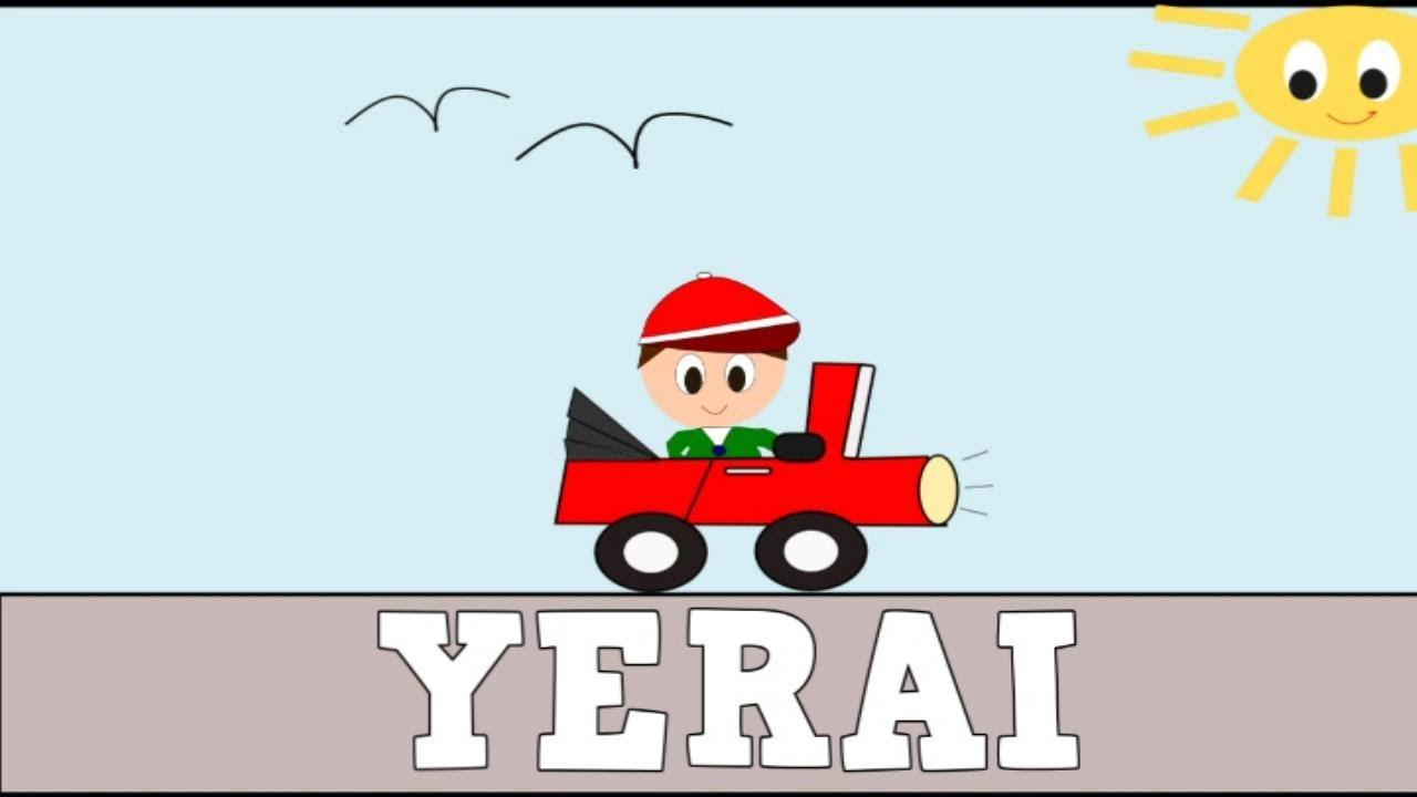 Aprender a Leer y Escribir YERAI - Vídeos educativos para Niñosy Bebés - Paty y Poty