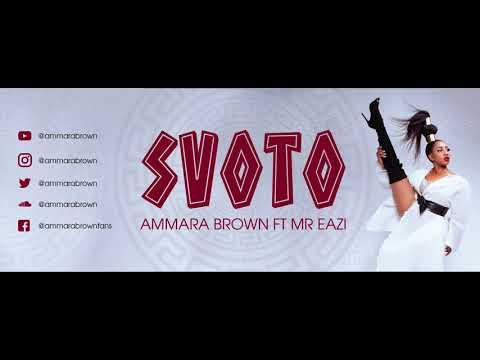 Ammara Brown feat Mr Eazi -  Svoto (Official Audio)