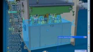 CATIA V6 Mechanism Simulation