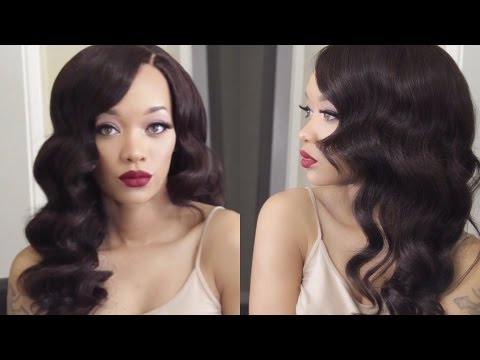 HAIR | Old Hollywood Waves Tutorial | EV Beauty Curling Wand