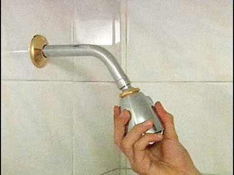 Cómo reemplazar el cabezal de una ducha