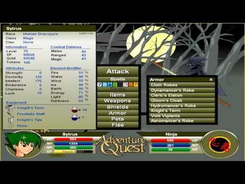 Let's Play: Adventure Quest   Ep  47 - No More EXP - TheCitrusPanda